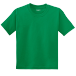 Kelly Green Gildan Youth DryBlend 50 Cotton/50 DryBlend Poly T-Shirt